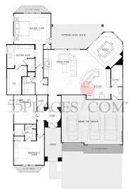 ashland floorplan 2452 sq ft robson ranch texas 55places com