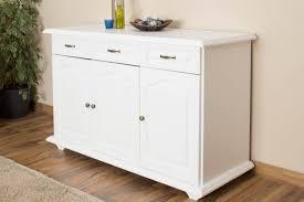 3 Door Filing Cabinet by 3 Drawer 3 Door Sideboard Pipilo 14 Solid Pine Wood White
