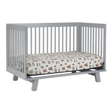 Hudson Convertible Crib Babyletto Hudson 3 In 1 Convertible Crib In Grey Free Shipping
