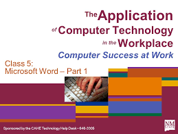 microsoft word help desk sponsored by the cahe technology help desk the application of