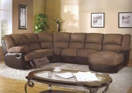 Reclining Chaise Lounge Sectional Sofa Design Sectional Sofa With Recliner And Chaise