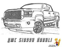 dodge truck coloring pages denali truck trucks and gmc denali on lifted