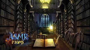 Malfoy Manor Floor Plan Harry Potter Asmr Hogwarts Library Remake Ambient Soundscape