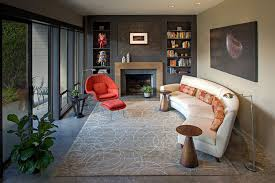 How To Find The Perfect Place For Your Curved Sofa Or Sectional - Curved contemporary sofa living room furniture