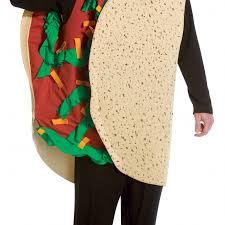 buy human taco taco costume in one size cheaper than amazon