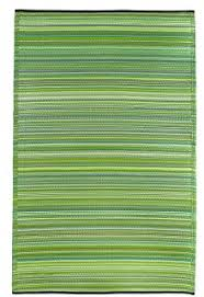 amazon com fab habitat murano recycled plastic rug lime green
