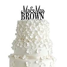 amazon com pixnor wedding cake topper