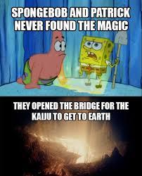 Spongebob Memes Patrick - spongebob and patrick created pacific rim pacific rim know