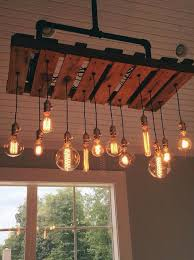 Wooden Chandeliers Chandeliers Made Out Of Pallets Pallet Wood Projects