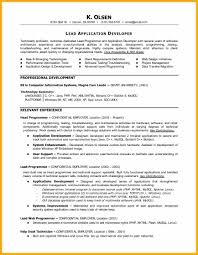 Resume Sample For Programmer by 10 Programmer Resume Bursary Cover Letter