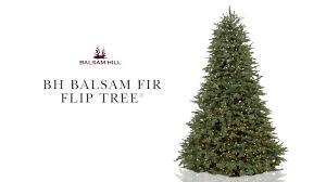 bh balsam fir flip tree from balsam hill