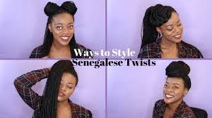 13 ways to style senegalese twists box braids 2016 youtube