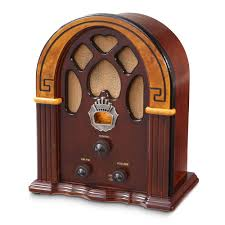 Crosley Radio Parts Companion Cathedral Style Radio