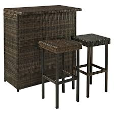 Patio Bar Tables Outdoor Bar Sets Target