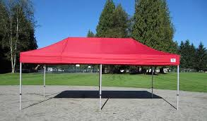 Ez Up Awnings Impact Canopy Industry Light Ml 10 X 20 Easy Pop Up Canopy Tent