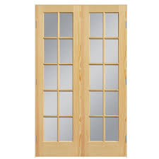 Interior Double Doors Without Glass Shop Interior Doors At Lowes Com