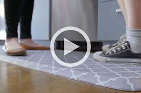 Padded Kitchen Rugs Kitchen Floor Mats For Comfort The Ultimate Anti Fatigue Floor
