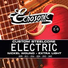 echosonic instrument strings shs international
