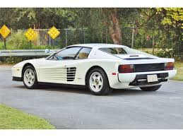 classic ferrari testarossa sonny crockett u0027s 1986 ferrari testarossa from miami vice is for