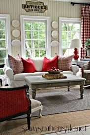 Country Style Decorating Pinterest by Savvy Southern Style A Change Of Colors In The Sun Room