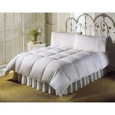 Luxury Down Comforter 5 Star Hotel Luxury Stripe White Down Comforter Free Shipping