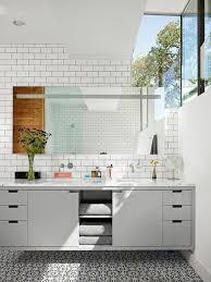 patterned tile bathroom patterned tile floor houzz