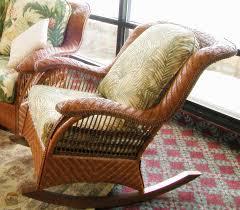rattan rocker cushions