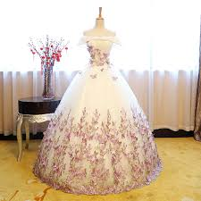 100 real fairy butterflys embroidery cosplay ball gown royal