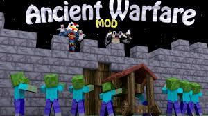 siege minecraft ancient warfare mod 1 12 2 1 7 10 npcs farms quarries