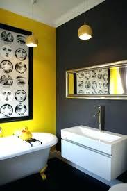 grey and yellow bathroom ideas joebe me wp content uploads 2018 02 grey and yello