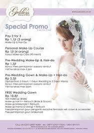 wedding dress kelapa gading goddess makeup bridal bridal shop jakarta indonesia 24