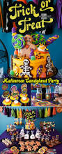 Halloween Birthday Invitations Printable 53 Best Halloween Candyland Images On Pinterest Halloween Candy