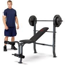 marcy diamond weight bench w 80lb weight set md 2080 walmart com
