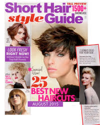 short hair style guide magazine celebrity hairstyles short hair style guide august 2015 maxine