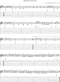 american old time music scores and tabs for guitar arkansas