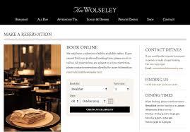 Open Table Widget The Wolseley Case Study