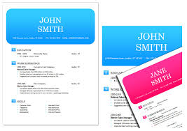Free Template Resume Download 50 Free Microsoft Word Resume Templates For Download