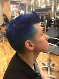 pravana blue men u0027s hair c rivera hair c rivera hair stylist