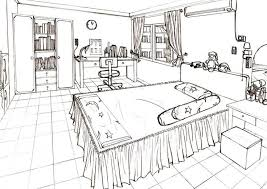 36 best perspective drawings bedroom images on pinterest