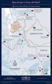 Cape Horn Map Torres Del Paine Map Discover The National Park With Swoop