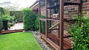 Keep Cats In Backyard Build An All Season Outdoor Cat Habitat 16 Steps With Pictures