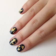 diy how to make gold leaf nail polish topcoat popsugar beauty