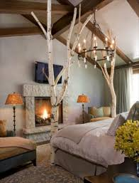 Schlafzimmer Deko Licht 35 Ideen Für Birkenstamm Deko Bringen Sie Die Natur In Ihre