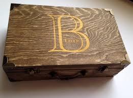 wooden groomsmen gifts set of 7 groomsmen wooden gift boxes s by thesmilinbride