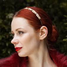 grecian headband gold leaf headband grecian headband silver hair band