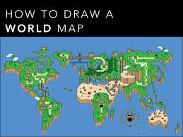 how to draw a map how to draw a map what is projections