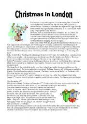 english teaching worksheets christmas reading