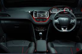 peugeot car interior peugeot 208 gti interior