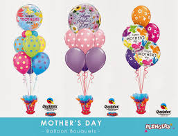 ballon boquets flingers party shop mothering sunday balloon bouquets