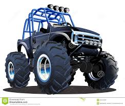 bigfoot monster truck pictures cartoon monster truck stock vector image 42142233